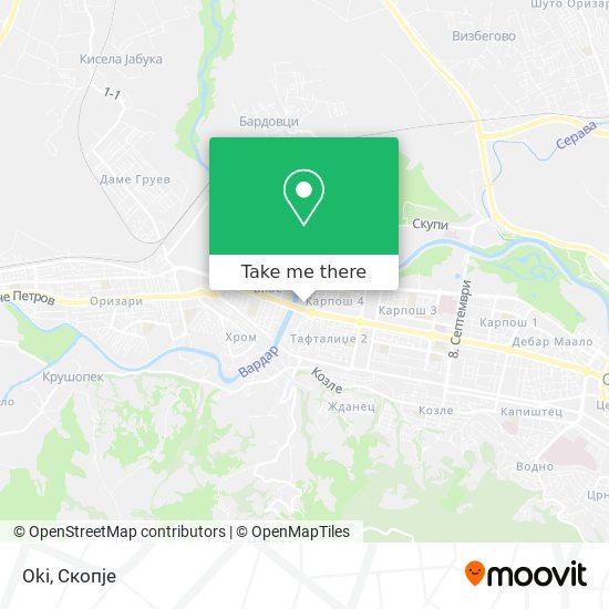 Oki map