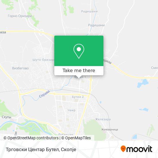 Трговски Центар Бутел map