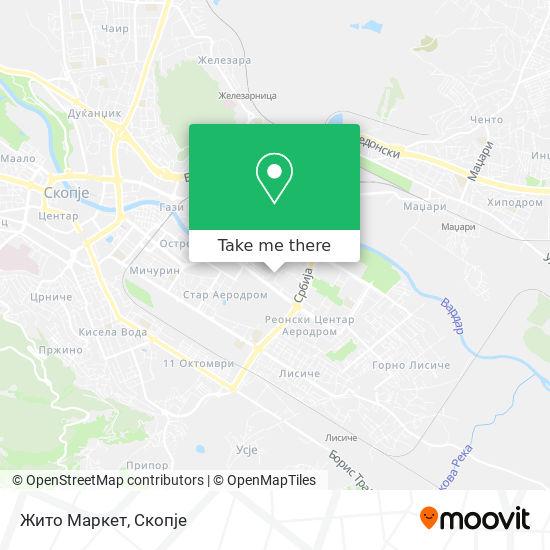 Жито Маркет map