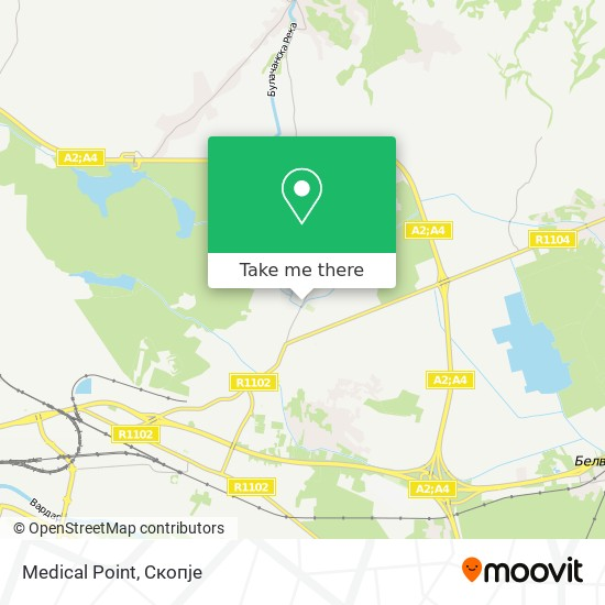 Medical Point map