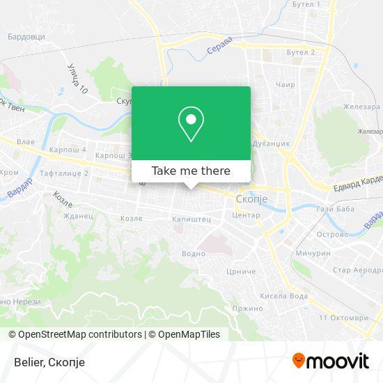 Belier map