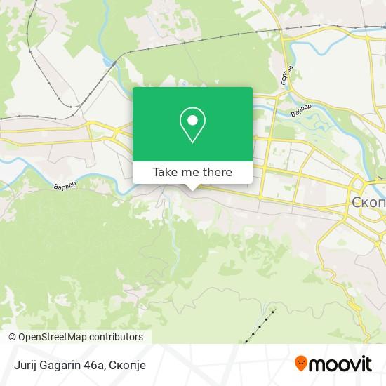 Jurij Gagarin 46a map
