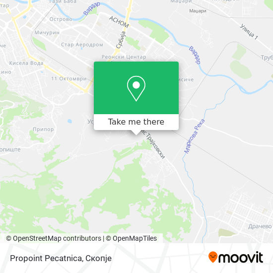 Propoint Pecatnica map