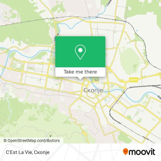 C'Est La Vie map