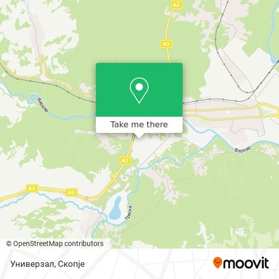 Универзал map