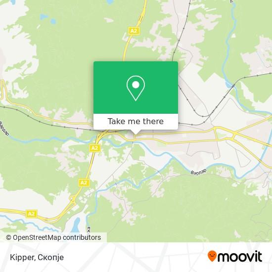 Kipper map