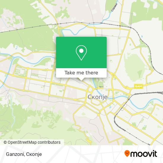 Ganzoni map