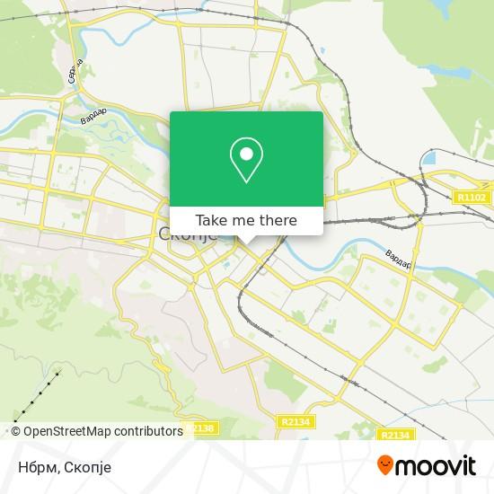 Нбрм map