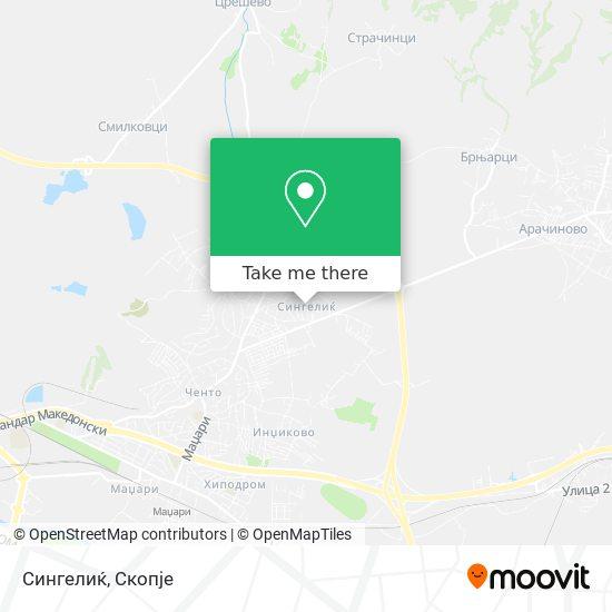 Сингелиќ map