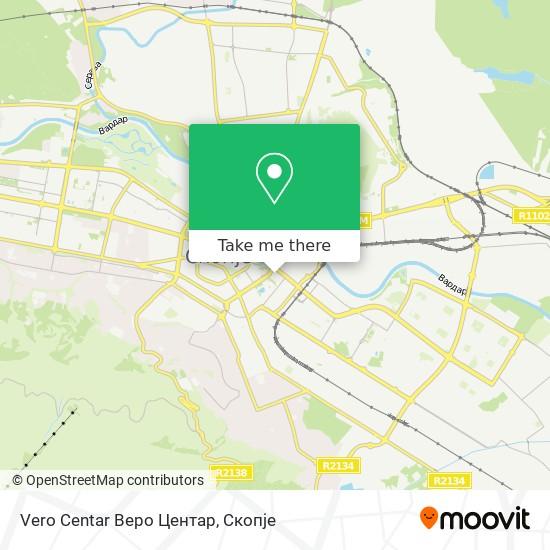 Vero Centar Веро Центар map