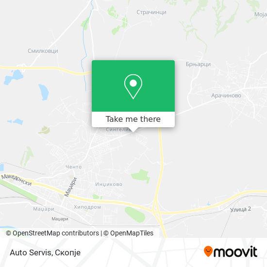 Auto Servis map