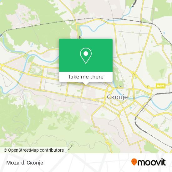 Mozard map