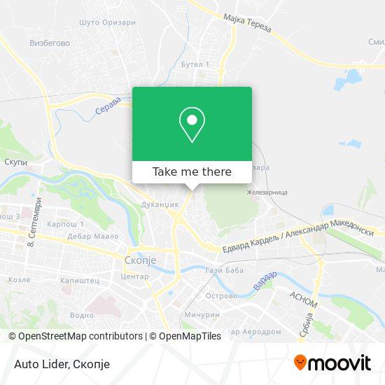 Auto Lider map