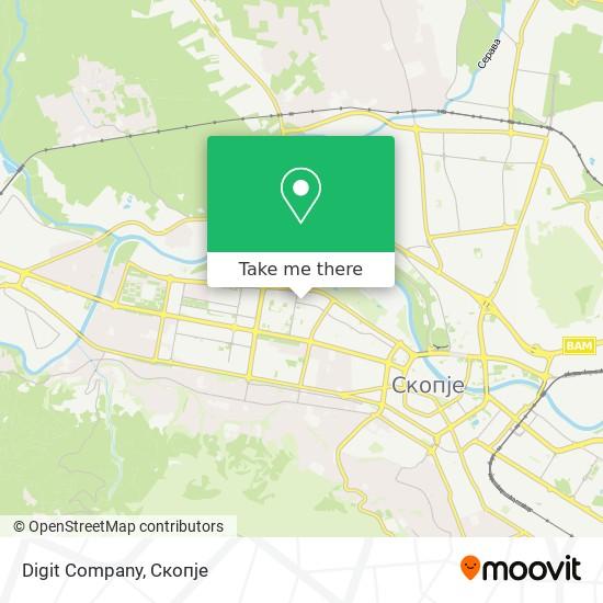 Digit Company map