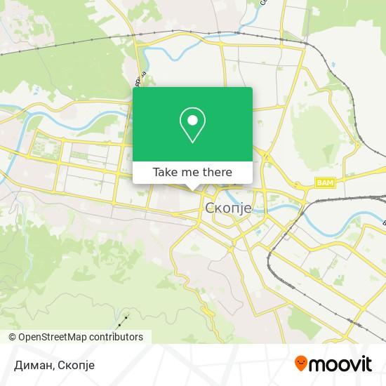 Диман map