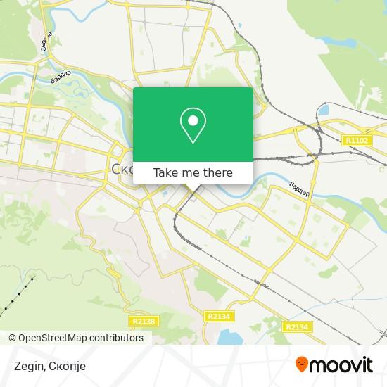 Zegin map