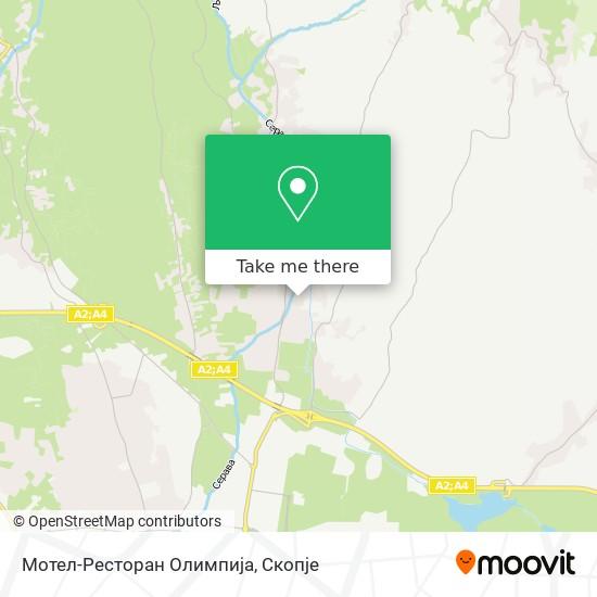 Мотел-Ресторан Олимпија map