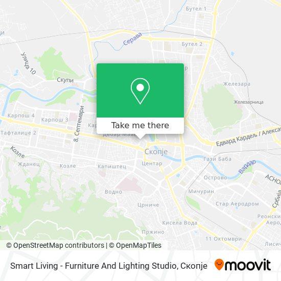 Smart Living - Furniture And Lighting Studio map
