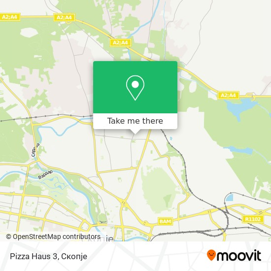 Pizza Haus 3 map
