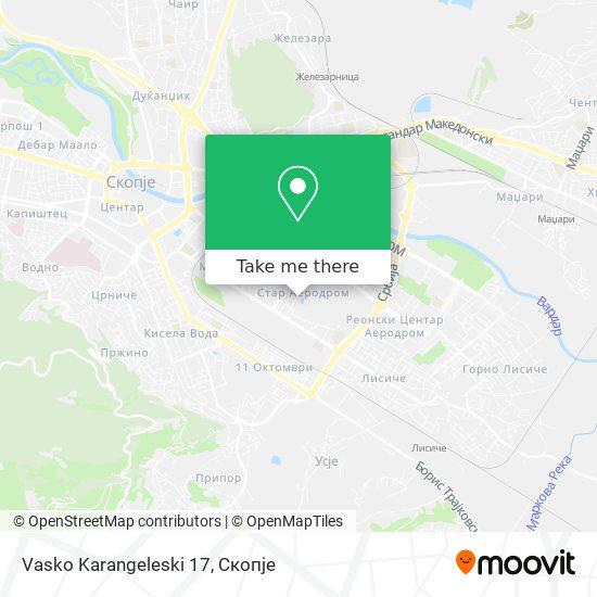 Vasko Karangeleski 17 map