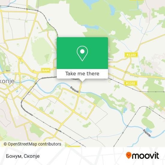 Бонум map