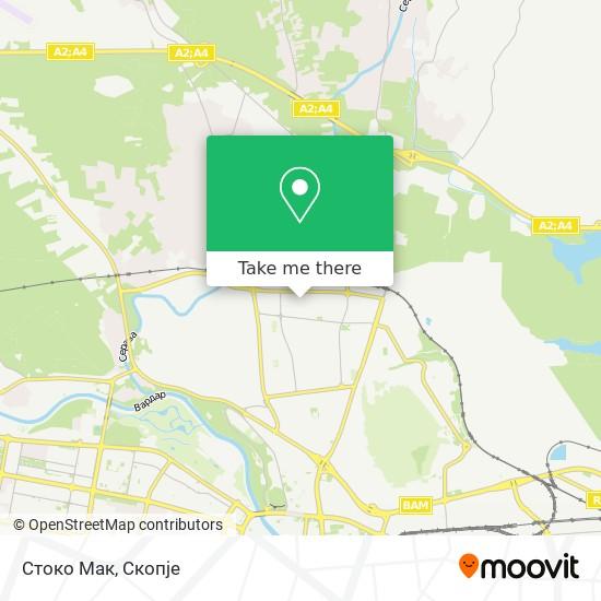 Стоко Мак map