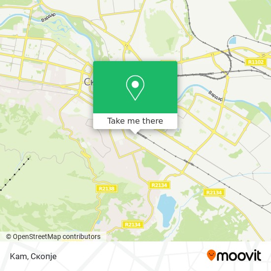 Kam map