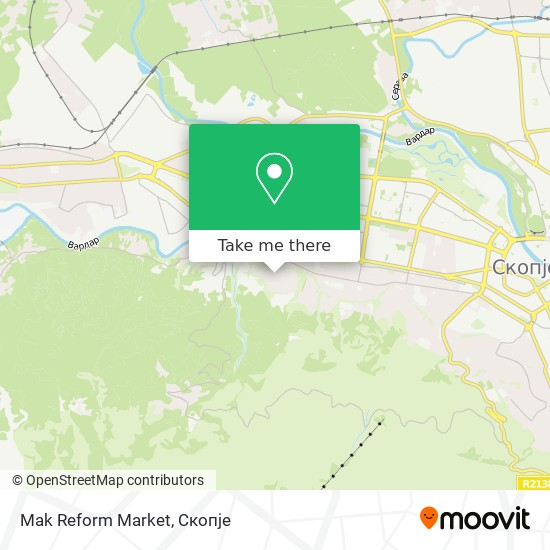 Mak Reform Market map