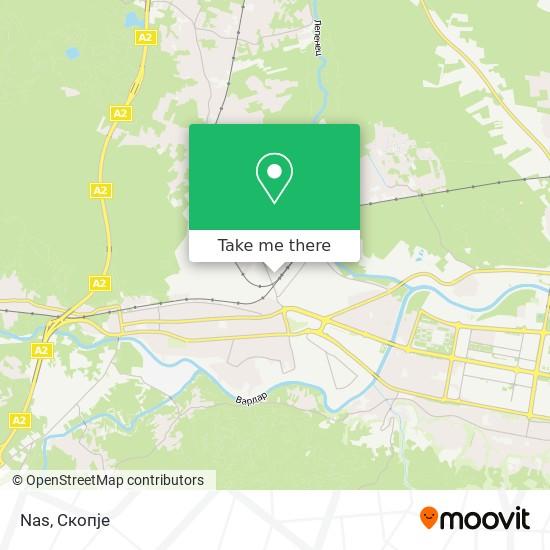 Nas map