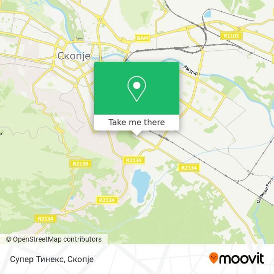 Супер Тинекс map