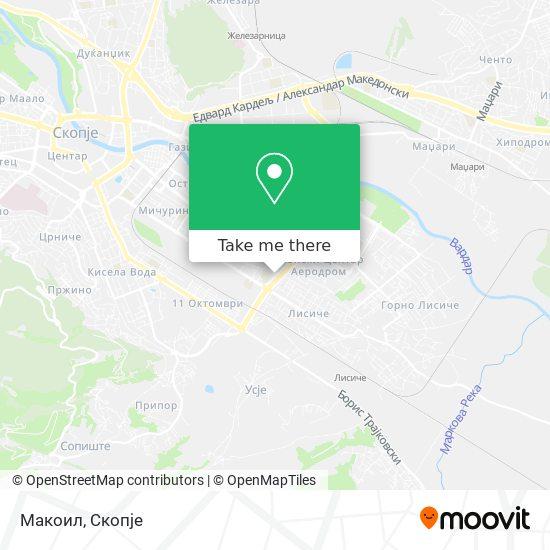 Макоил map