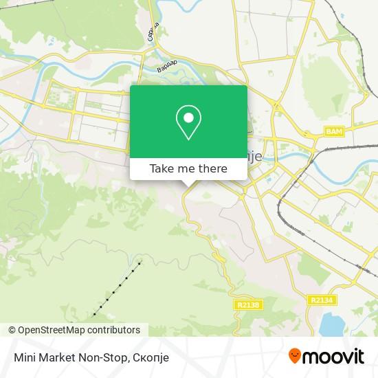 Mini Market Non-Stop map