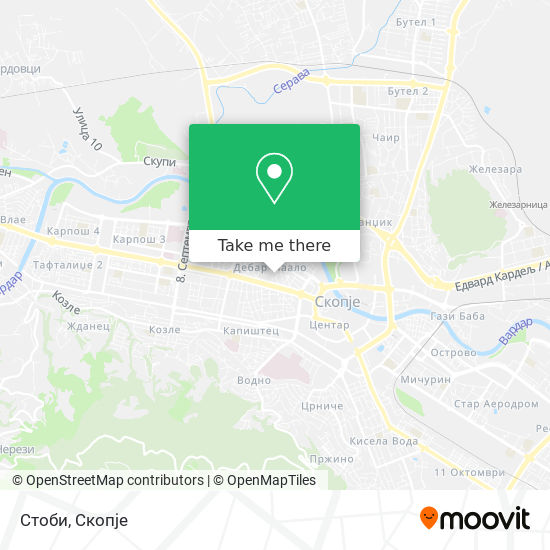 Стоби map