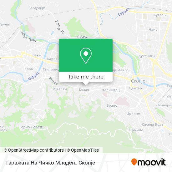 Гаражата На Чичко Младен. map