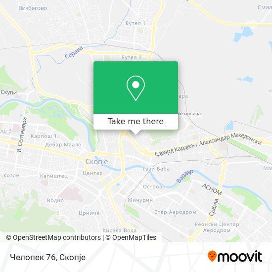 Челопек 76 map