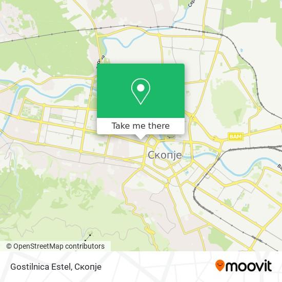 Gostilnica Estel map