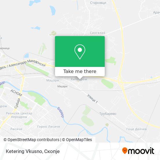 Ketering Vkusno map
