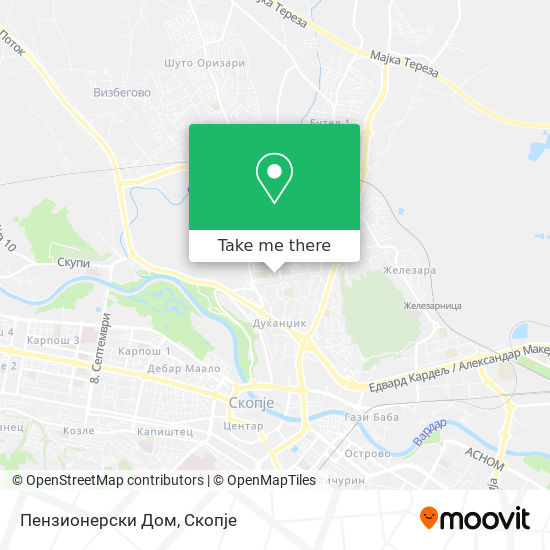 Пензионерски Дом map