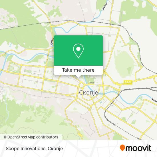 Scope Innovations map