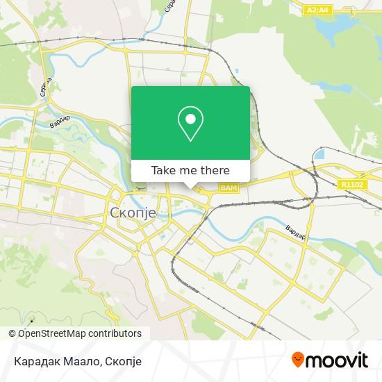 Карадак Маало map