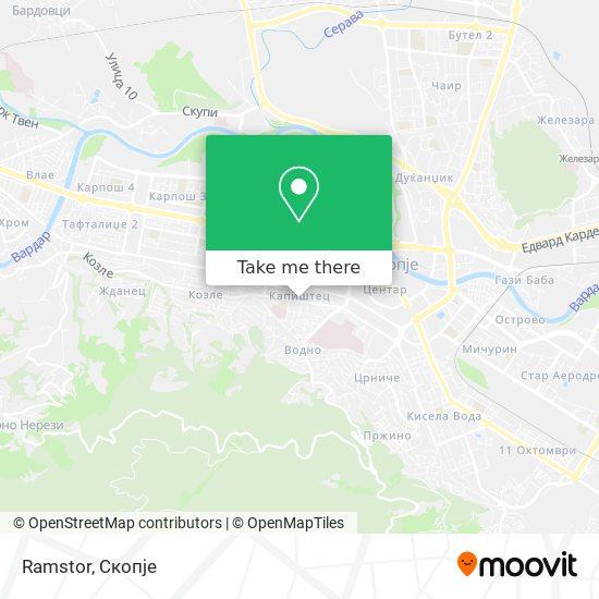 Ramstor map