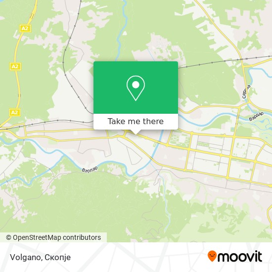 Volgano map