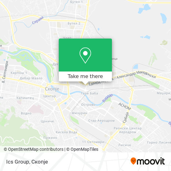 Ics Group map