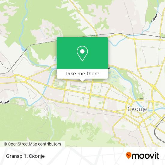 Granap 1 map
