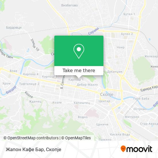 Жапон Кафе Бар map