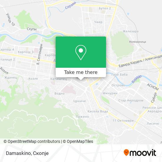 Damaskino map
