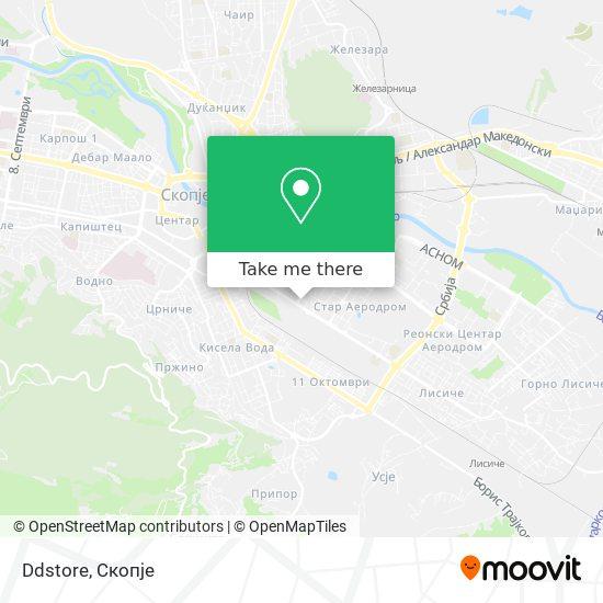 Ddstore map