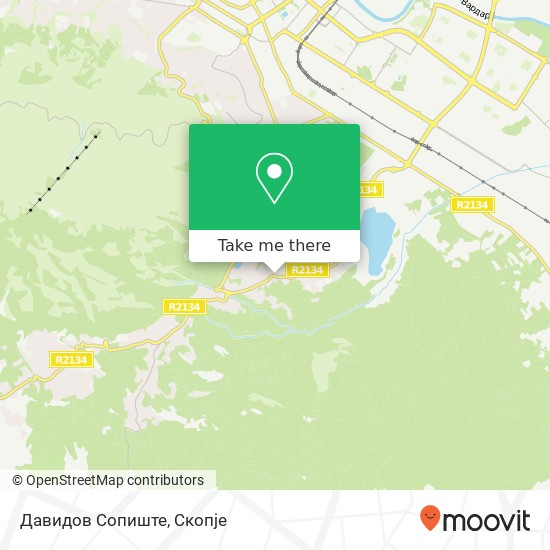 Давидов Сопиште map