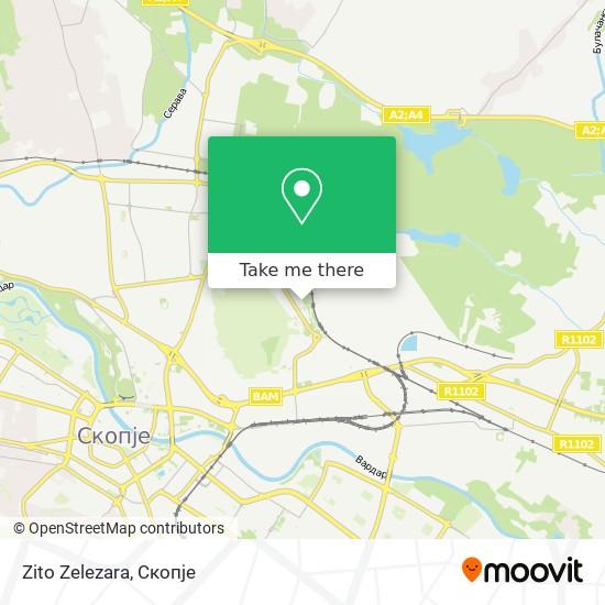 Zito Zelezara map