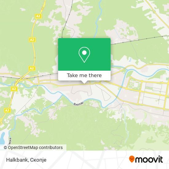 Halkbank map
